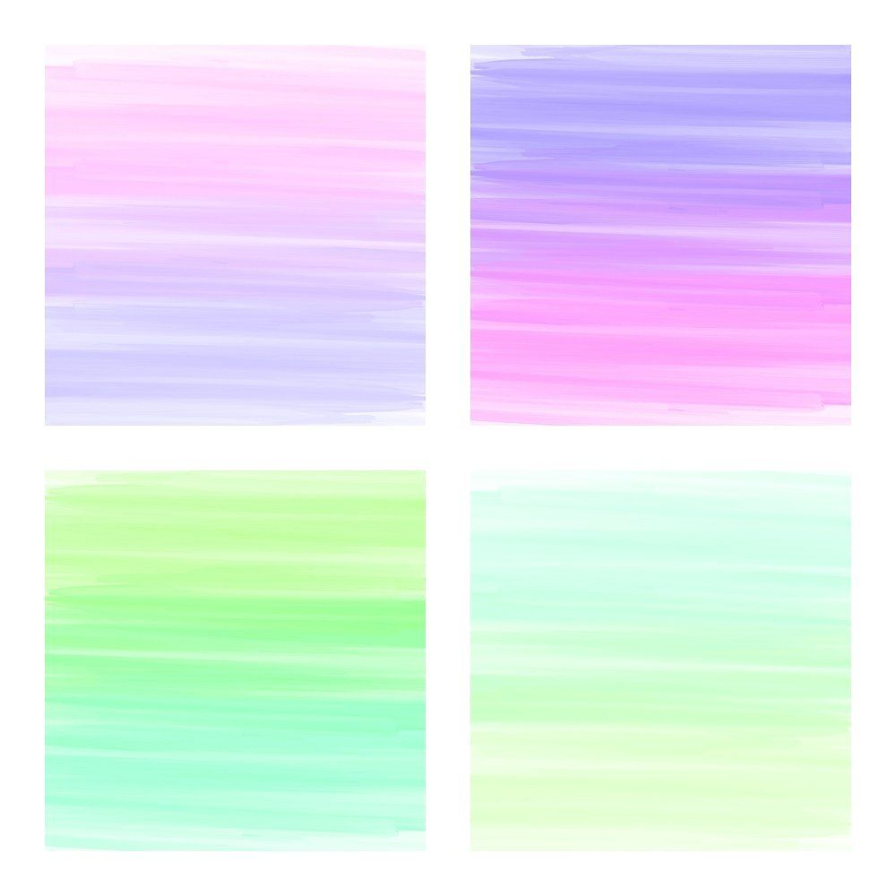 Rainbow Stripes Watercolor Papers Making Card Project Base