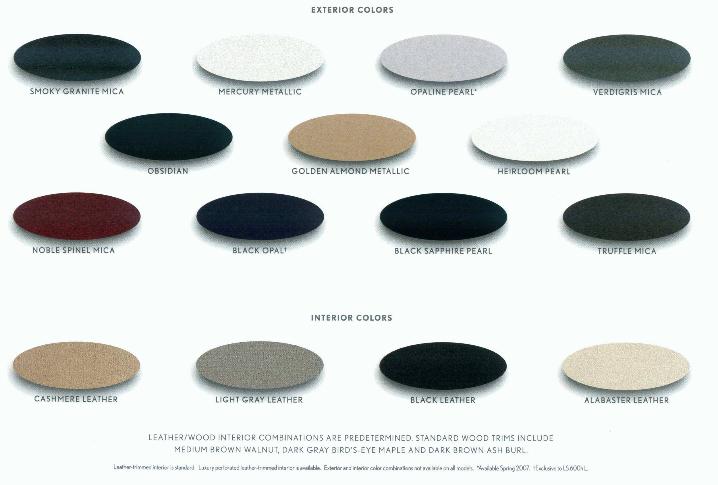 Car paint color samples - Paint Color Codes