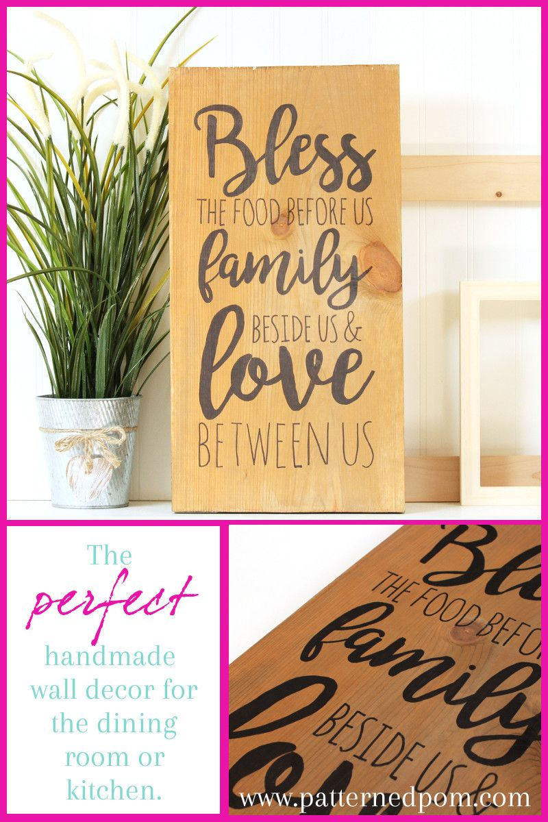 Nice Family Sign Wall Decor Model - The Wall Art Decorations ...