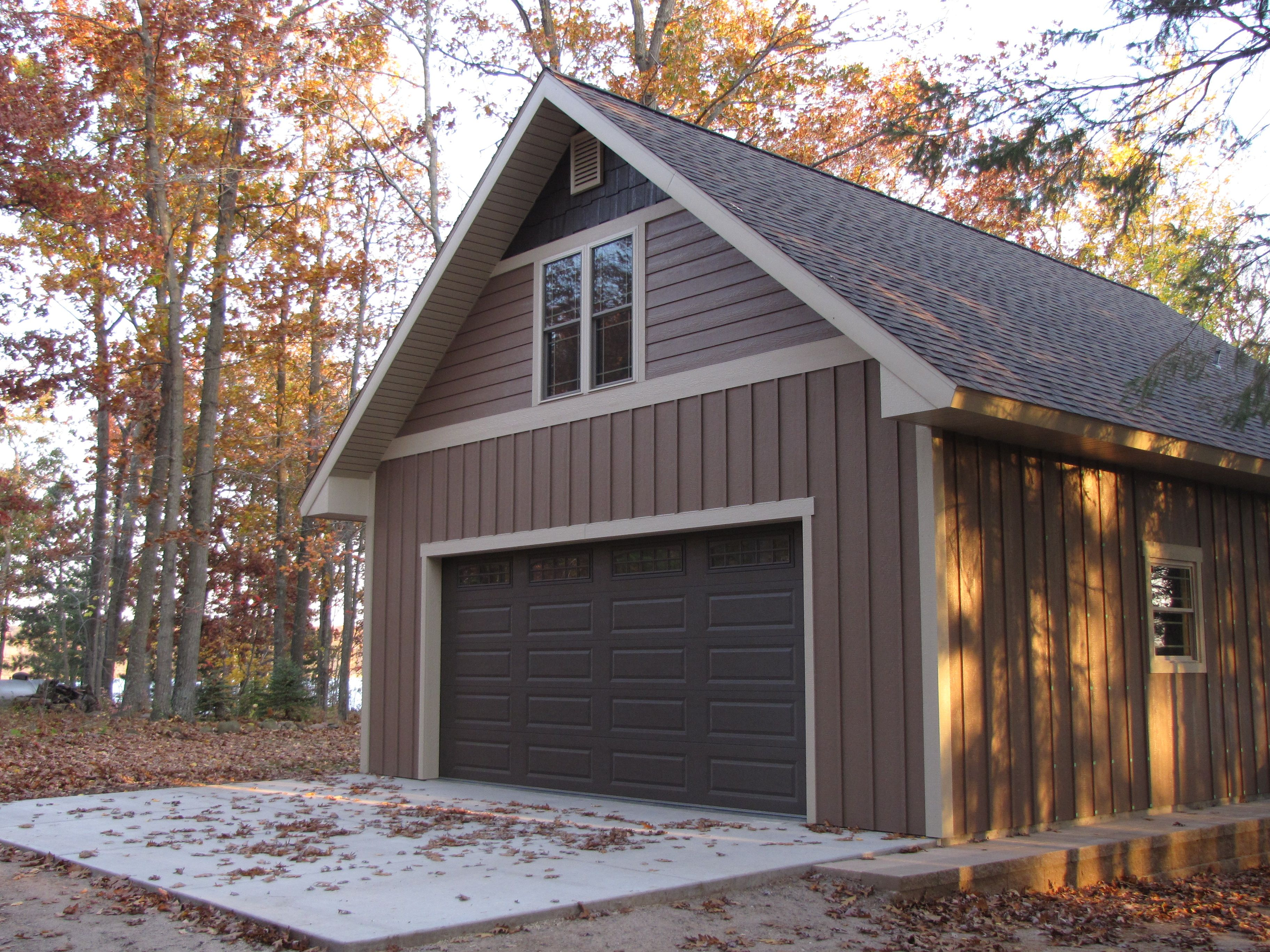 Building A New Garage Make The Exterior One Of Kind With Siding