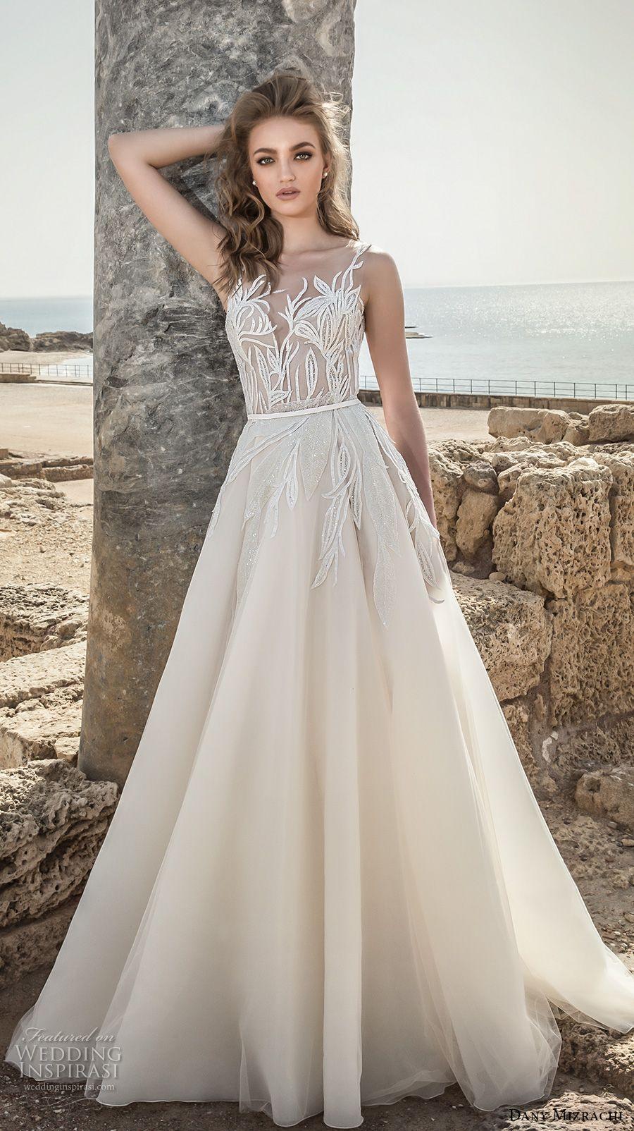 Dany Mizrachi 2018 Wedding Dresses   Hochzeitskleider, Sommer ...