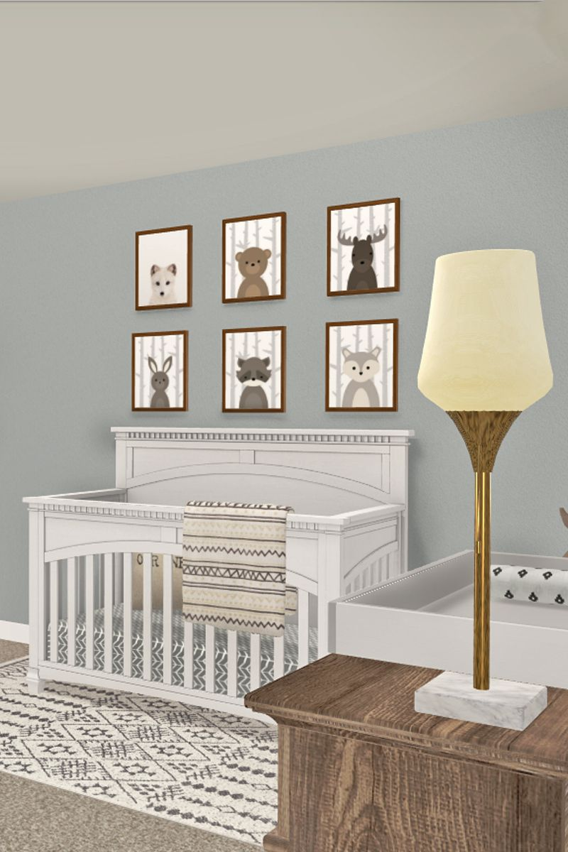 Tap To See This Nursery Design Or Create Your Own At