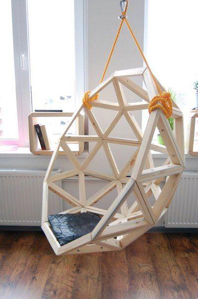 Геодом BY geodesic hang chair hangstoel   Design. Industrial ...