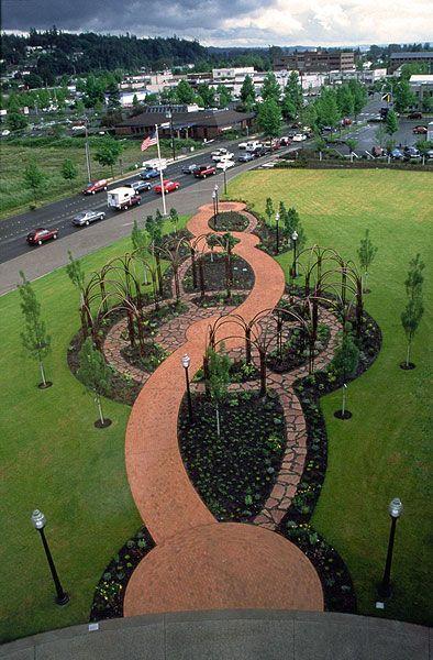 Cant Decide Brick Or Flagstone Dream Garden Garden Walkway Garden