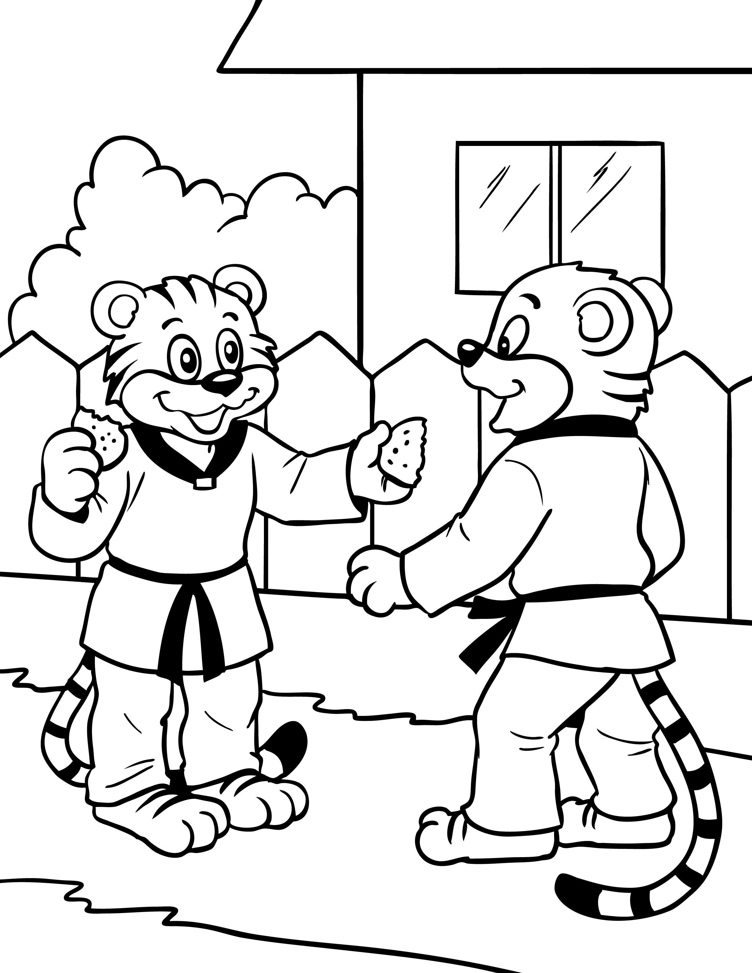 make detailed line drawings for children book story books