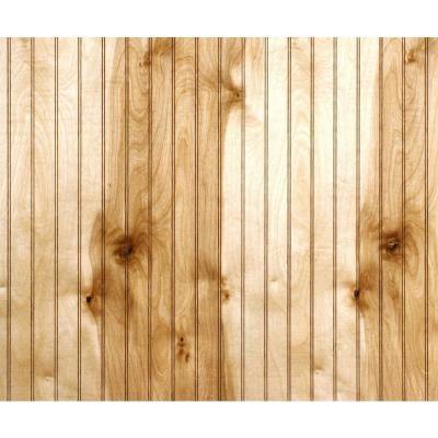 Birch Beadboard Paneling-352609 - The Home Depot Interior walls - 32 Sq. Ft. Birch Beadboard Paneling-352609 - The Home Depot