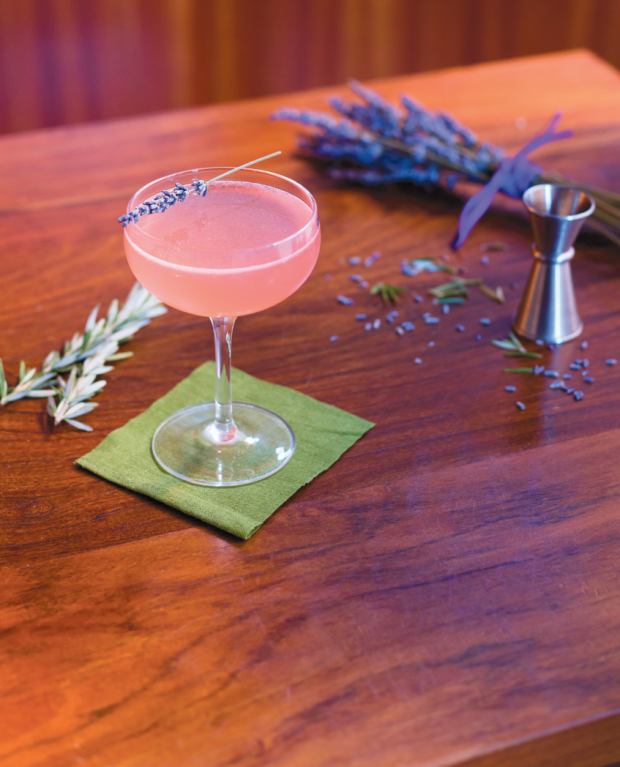 Rosemary-Lavender Rich Simple Syrup | Edible Feast via Edible Rhody #ediblelibations