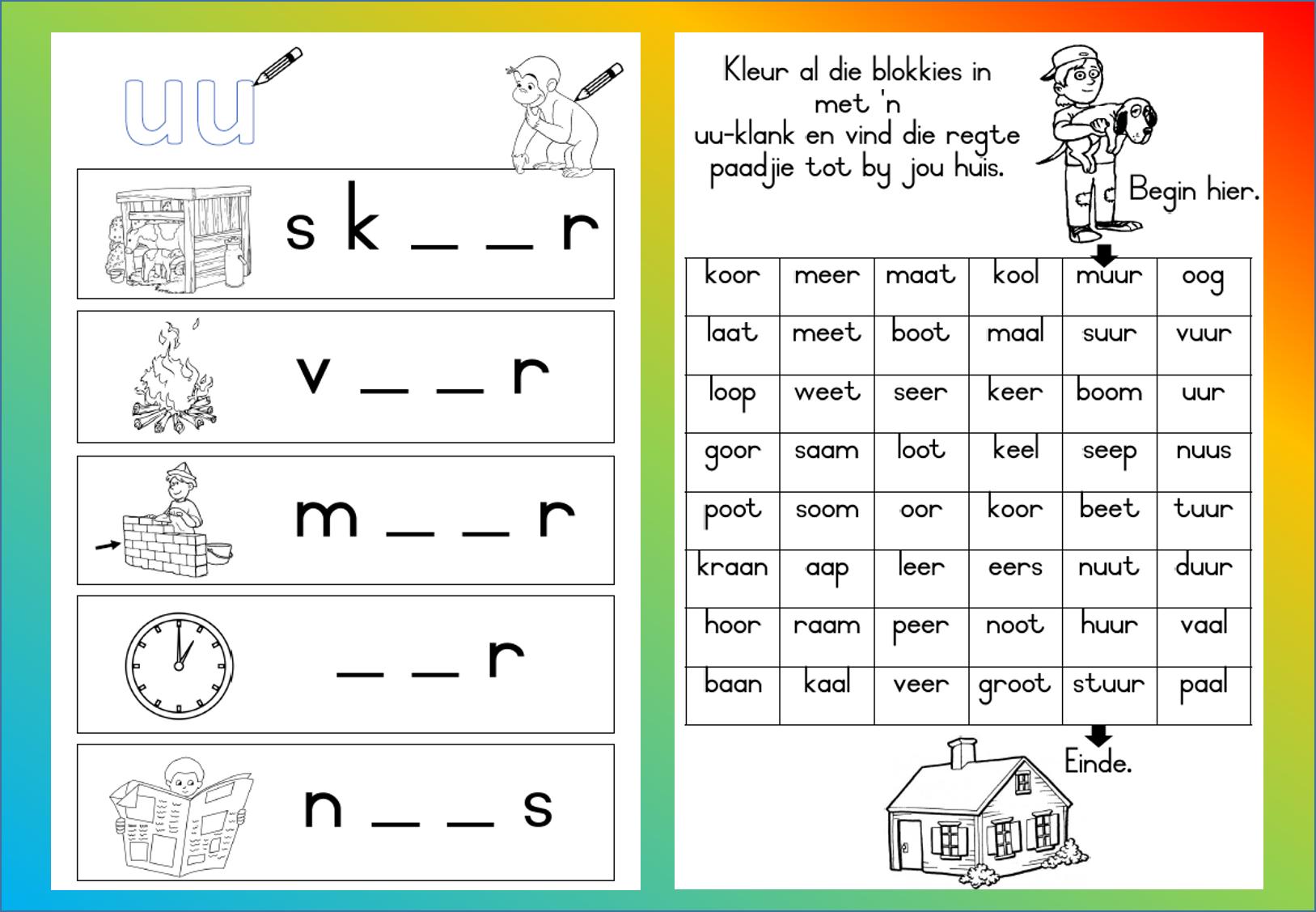 Pin By Komma Leer En Leessentrum On Afrikaans Engels En