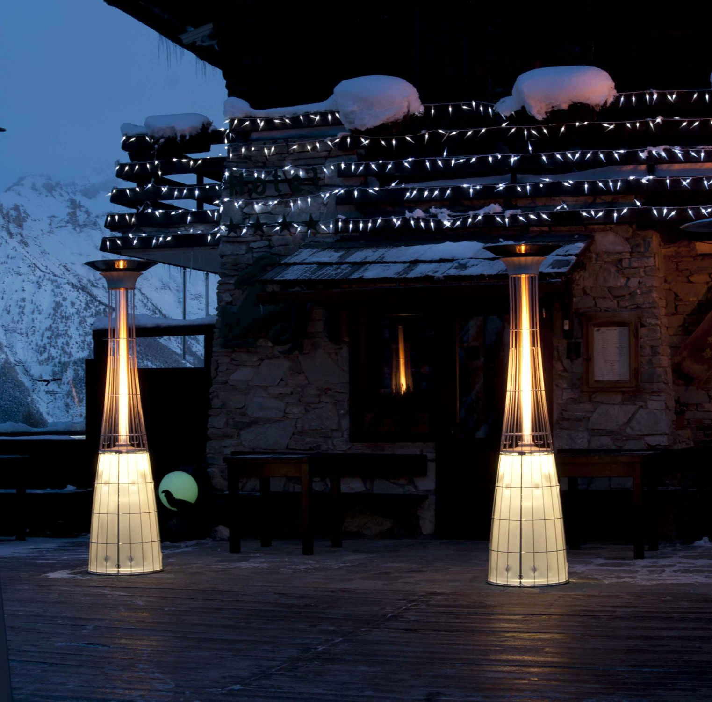 Floor standing infrared patio heater LIGHTFIRE DOLCE VITA