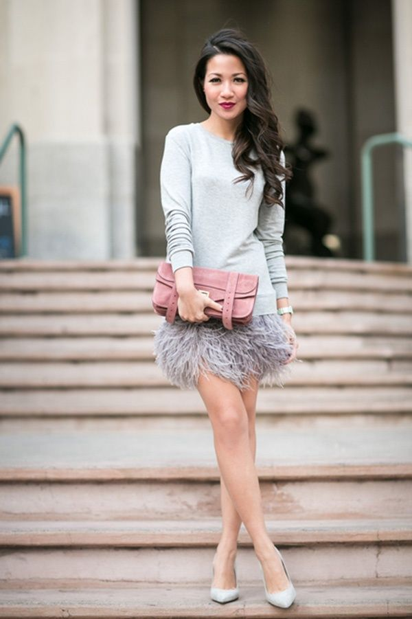20 Gorgeous Winter Wedding Guest Style Ideas Pretty Tulle Skirts Statement Dresses And More