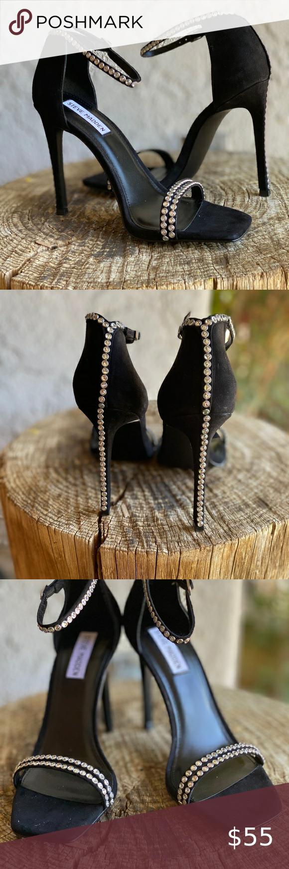 Aproximación hormigón Reducción de precios  STEVE MADDEN COLLETTE BLACK SUEDE in 2020 | Shoes women heels, Steve madden  shoes heels, Clothes design