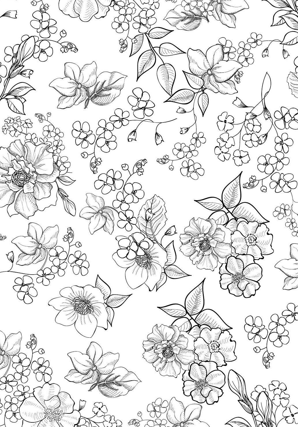 Colour Calm 02 Sampler Clippedonissuu Colorful Art Coloring Book Art Flower Drawing