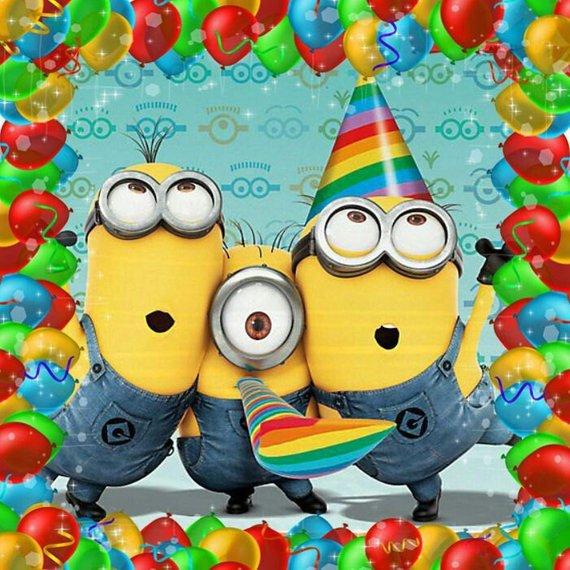 minion happy birthday cards