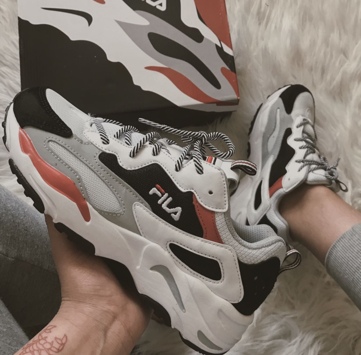 Fila Ray Tracer, can be purchased in journeys or footlocker ...