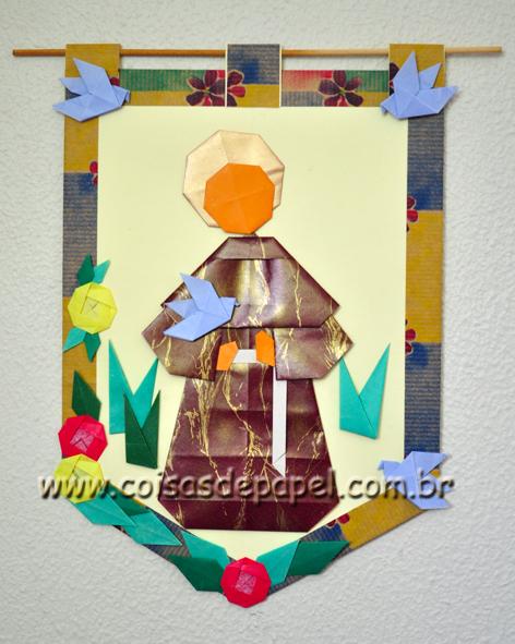 Origami S Francisco De Assis De Emilson Nunes Dos