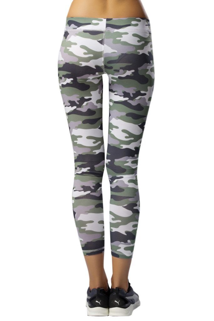 Biondina Flow Green Camo Leggings Green White Black 365ist Camo ...