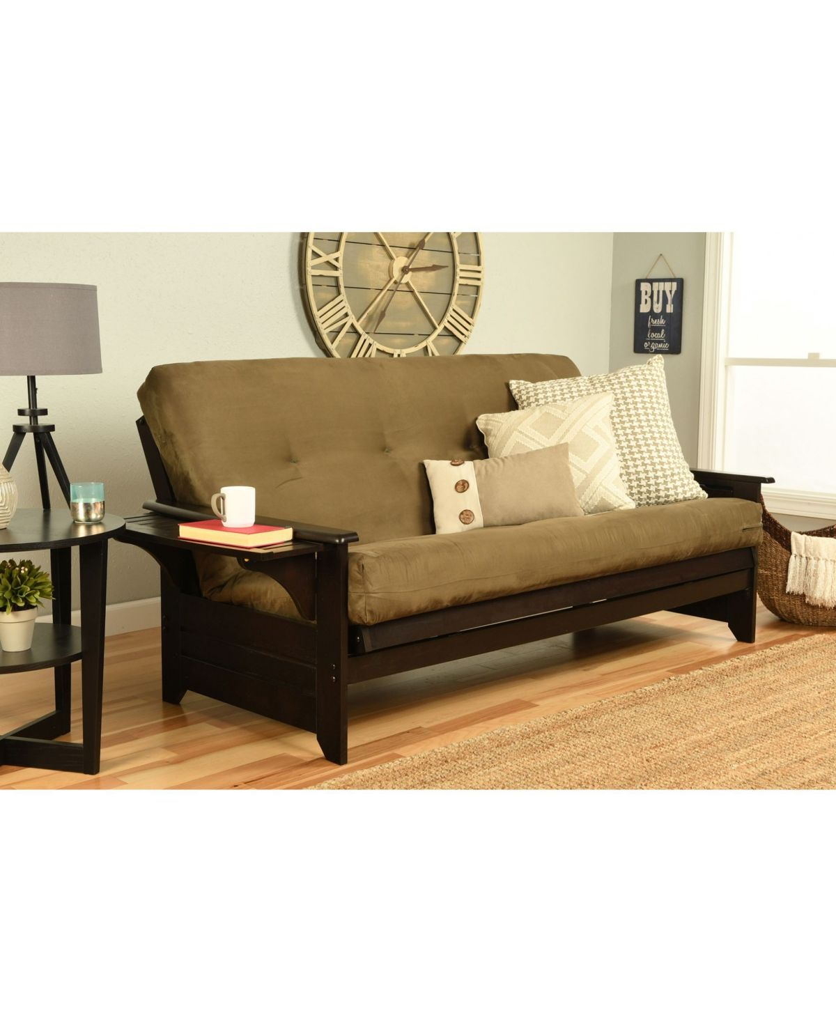 Kodiak Phoenix Futon In Espresso Finish