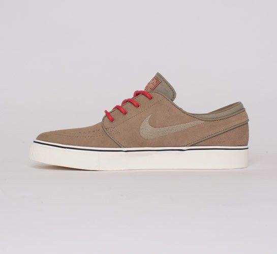 Cute for my boy Nike Skateboarding Stefan Janoski (Khaki/Khaki-Hyper Red) - Consortium.