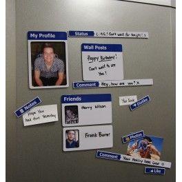 Fridgebook - Facebook køleskabsmagneter