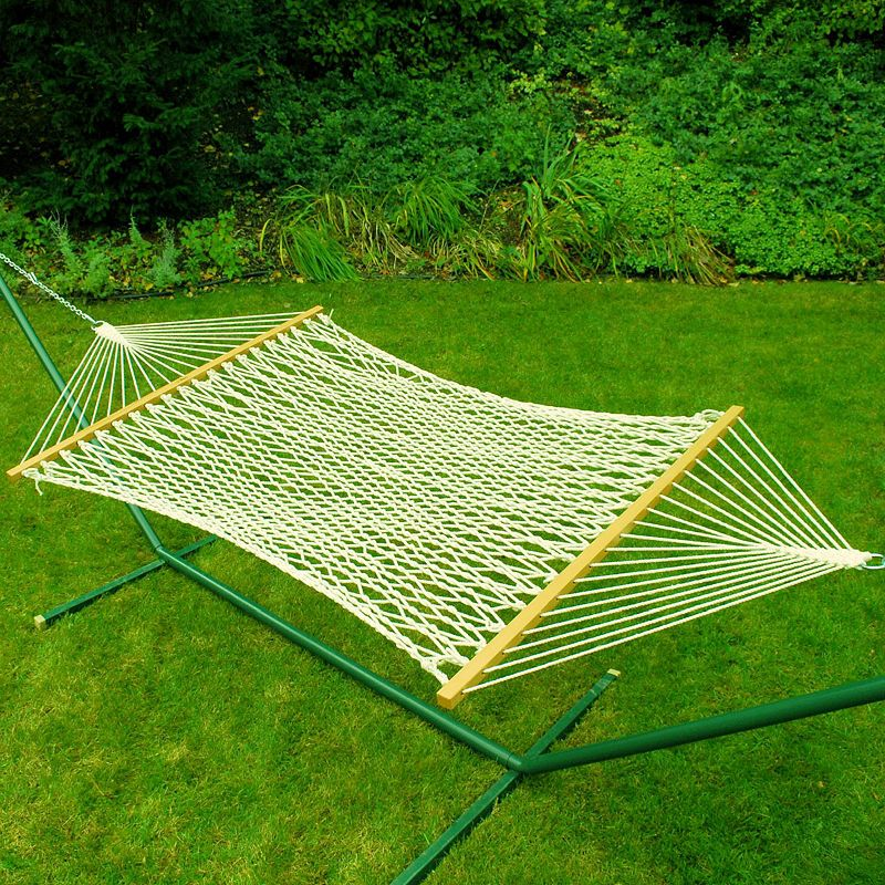 hammock with com foot set ft metal ip rope cotton algoma stand walmart deluxe