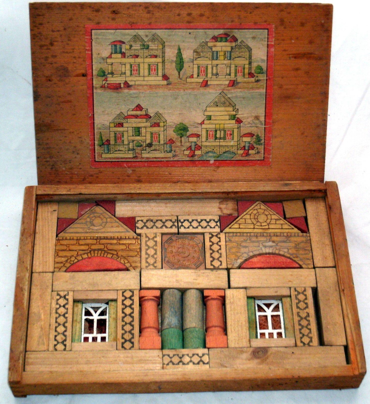 German Building Block Toys