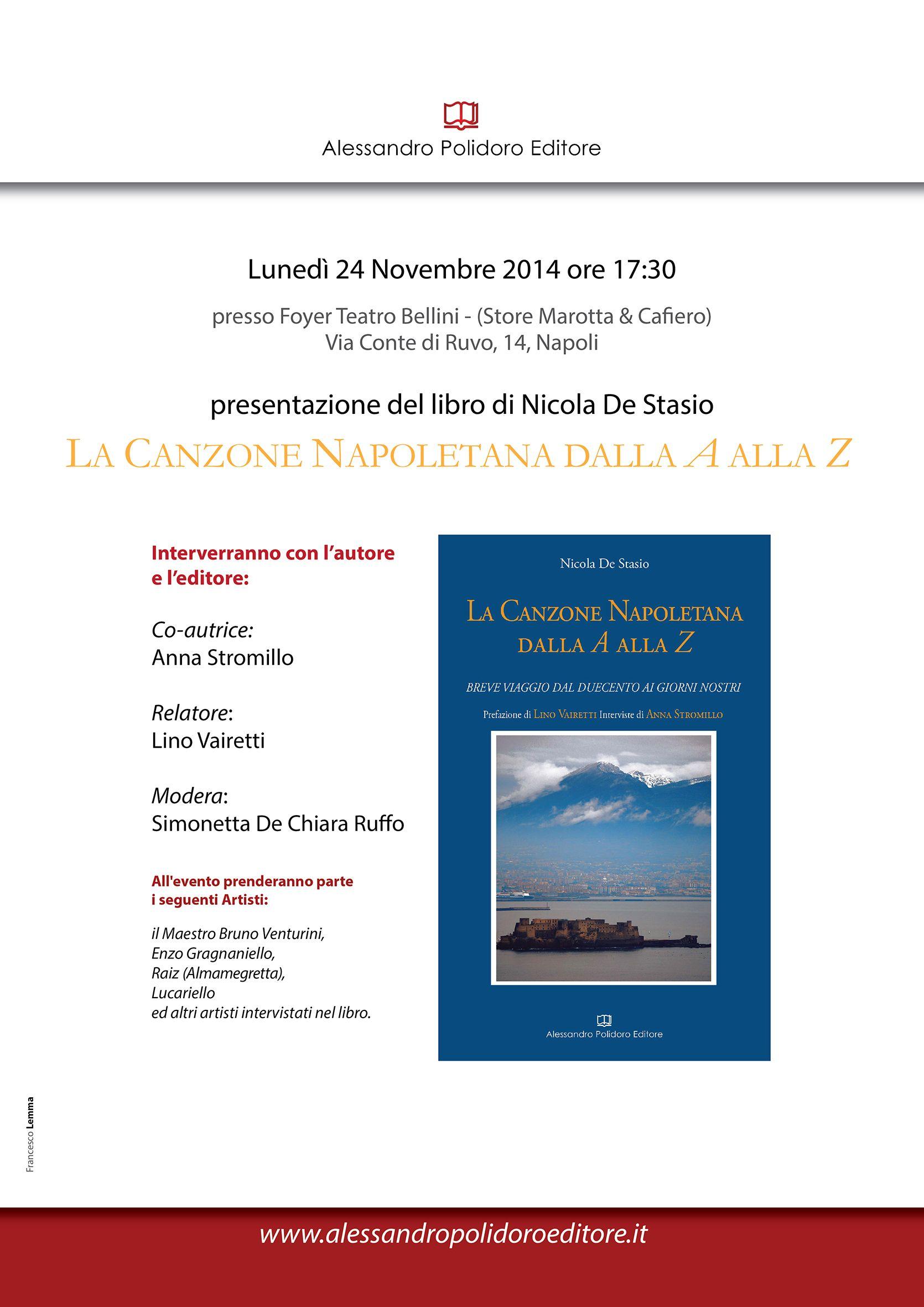 Report Campania Canzone, Libri, Notizie