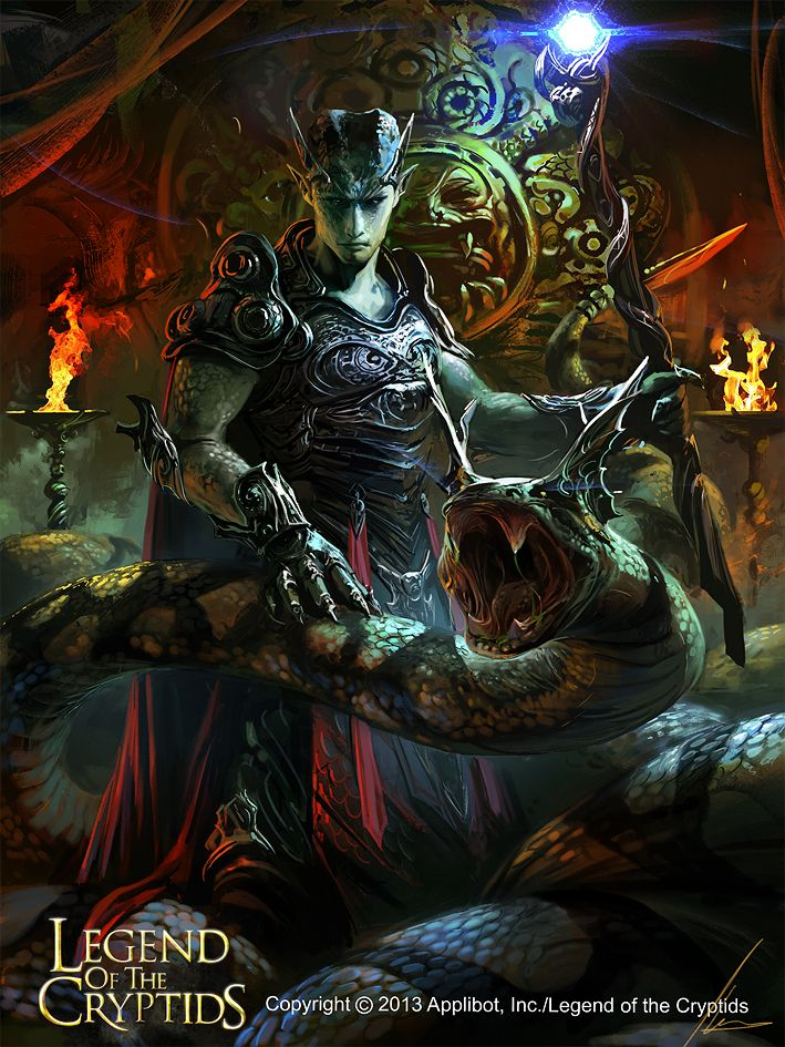 Artist: Ignacio Bazán Lazcano aka neisbeis - Title: the mightiest python reg - Card: Unknown