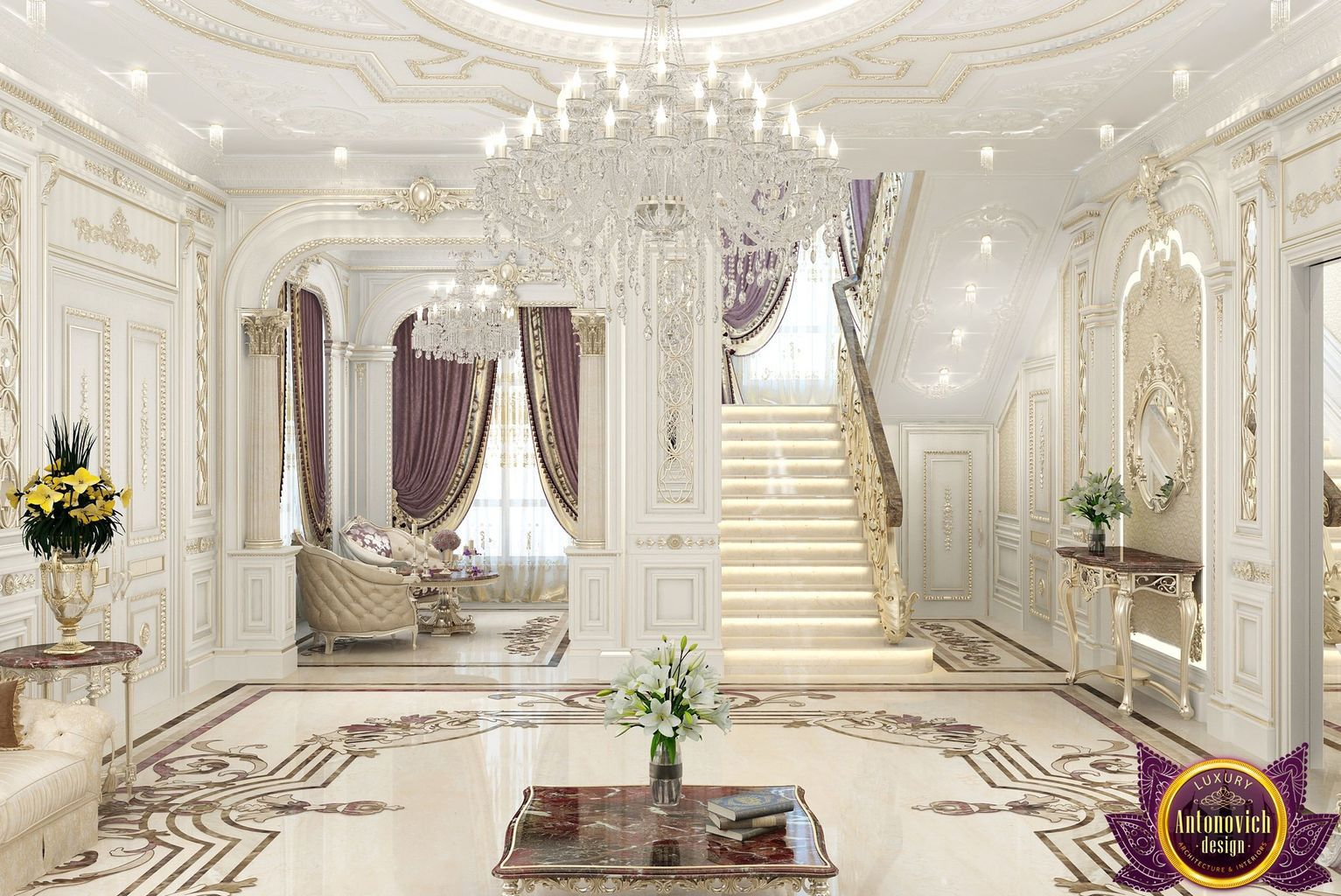 Perfect Most Beautiful House Interiors From Katrina Antonovich