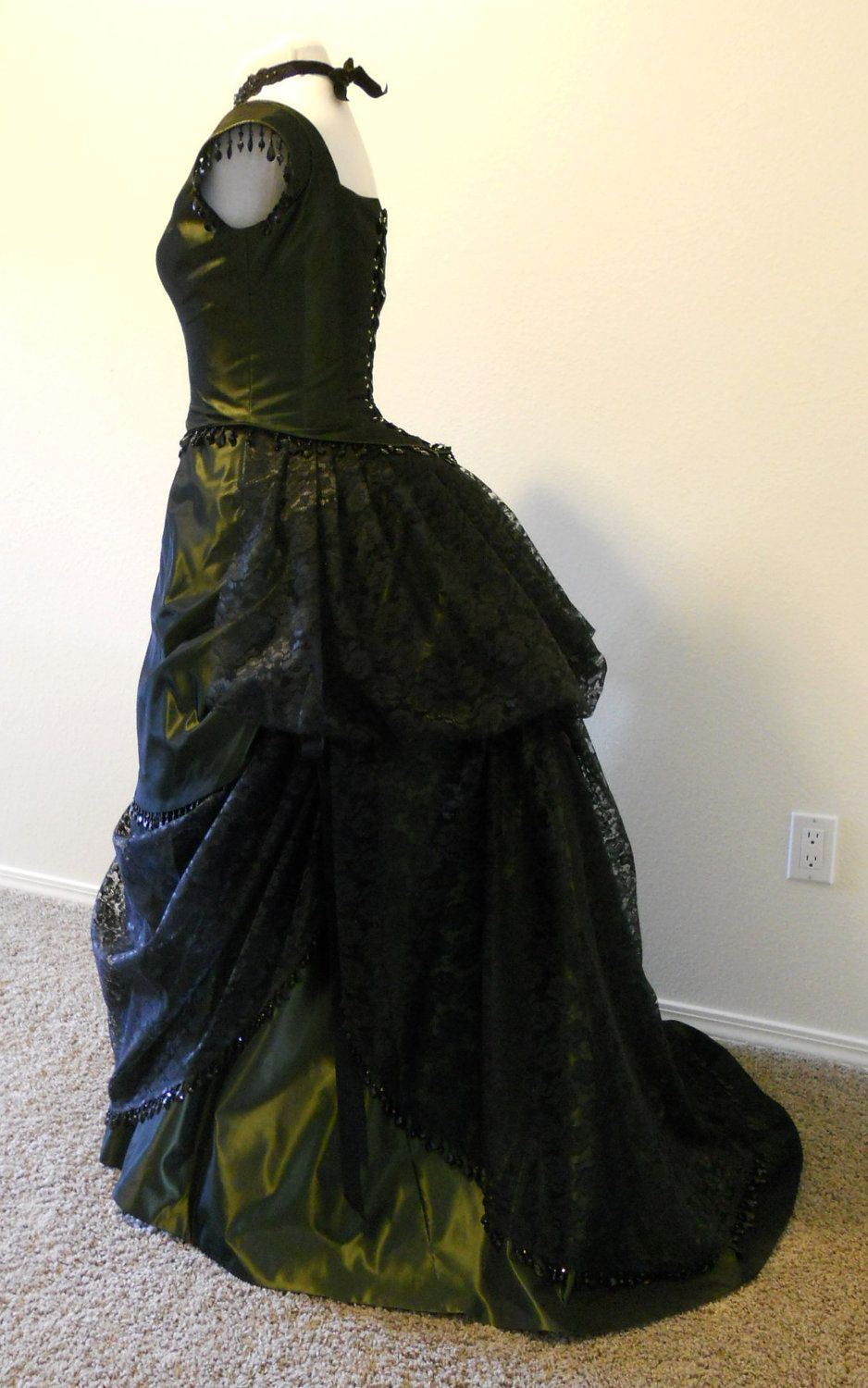 Victorian Gothic Style Prom Ball Gown from BritishSteampunk on Etsy ...