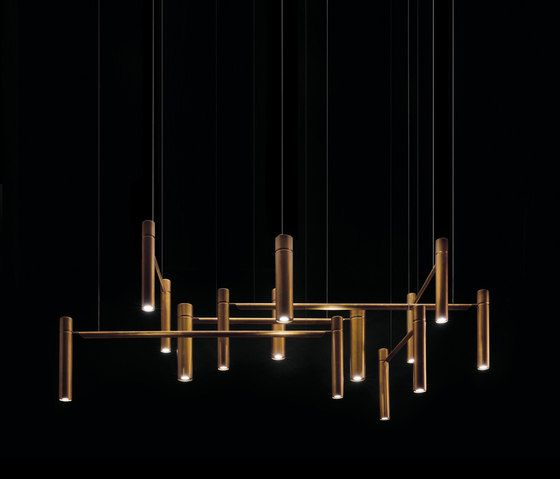 Tubular horizontal ceiling by henge pendant lights in metal dimmable energy saving led pendant light energy efficiency index a leds pointing upward and downward body 7 cm and aloadofball Image collections