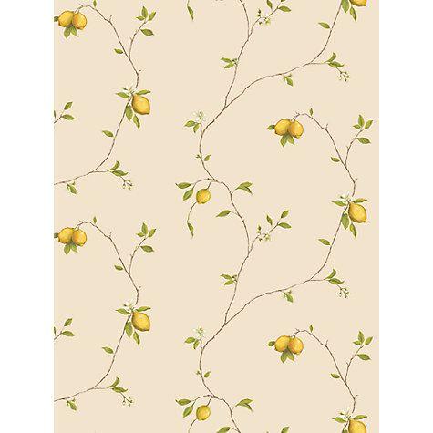Galerie Aquarius Lemons Kitchen Wallpaper, Yellow, G12081