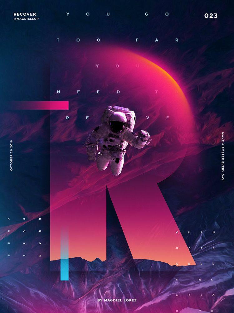 Dit heeft een moderne uitstraling maar toch door de kleuren zou het ook op een poster van een oude sci-fi thuishoren. 023_Recover.jpg
