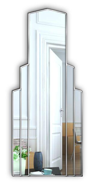 Empire Art Deco Full Length Mirror
