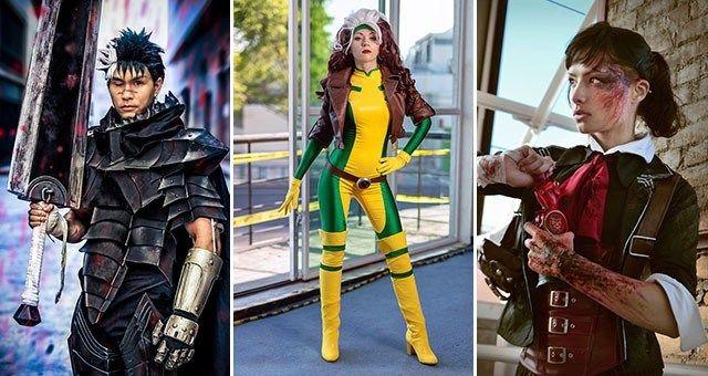 Veja os incríveis cosplays da semana