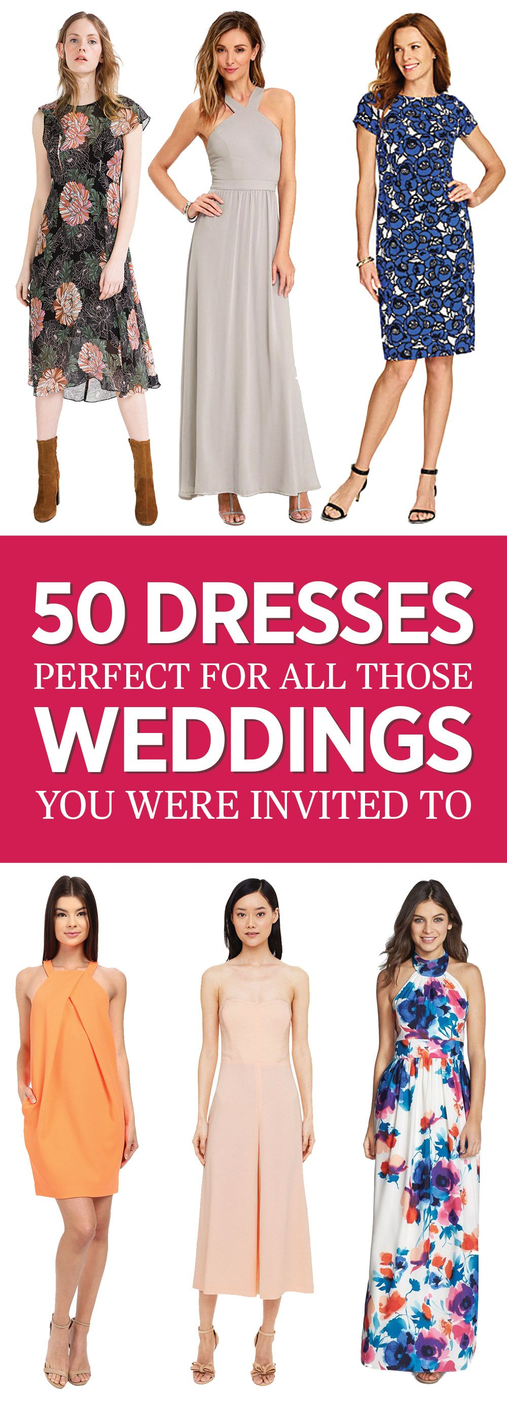 Dresses to wear to summer wedding   Dresses That Couldnut Be More Perfect for All Those Weddings On