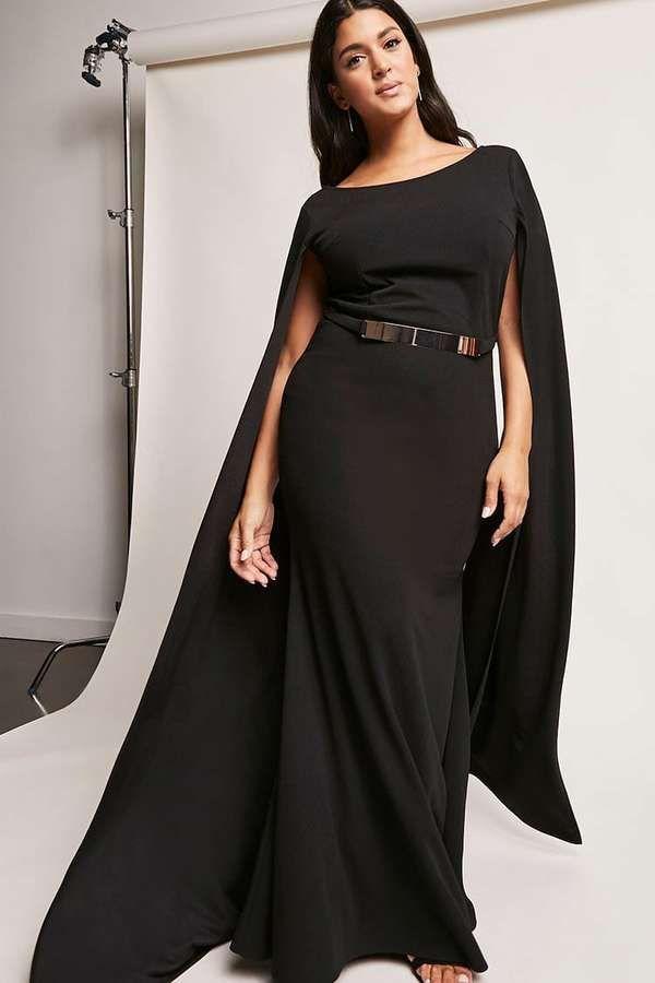 dc9d44e68cda FOREVER 21+ Plus Size Cape Sleeve Maxi Dress #plussize #fashionaddict  #trends #fashion #trendsetter aff