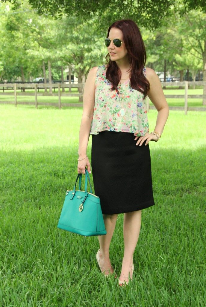 Summer Work Outfit | Lady in Violet by @karenzta