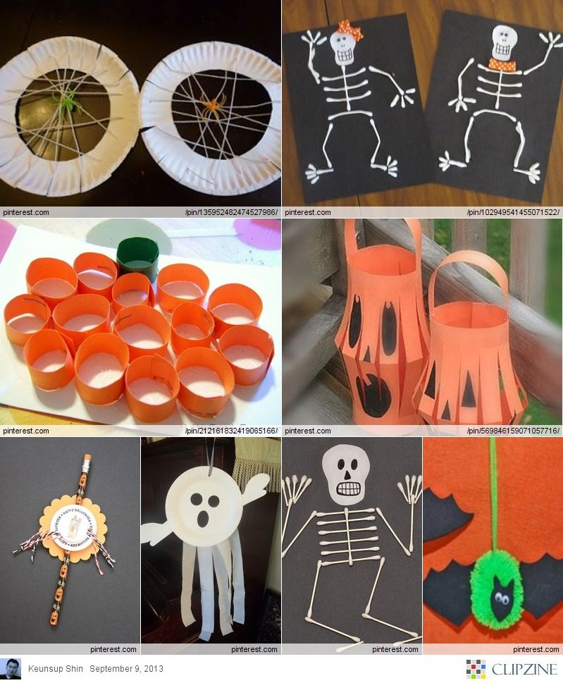 So cool Halloween crafts for Kids | las niñas | Pinterest | Craft ...