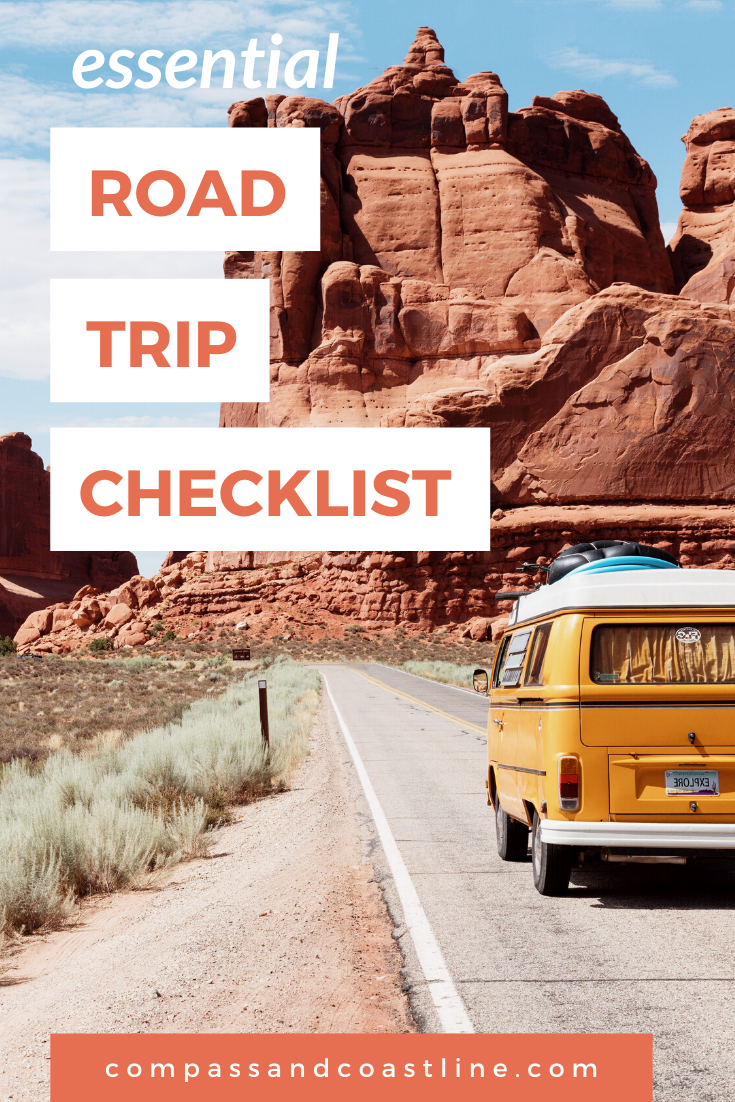 The Road Trip Checklist You Ll Be Happy You Used Road Trip Checklist Travel Checklist Road Trip