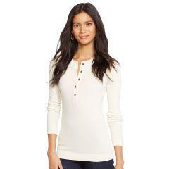 Cotton Henley Shirt - Lauren Jeans Co. Long-Sleeve - RalphLauren.com