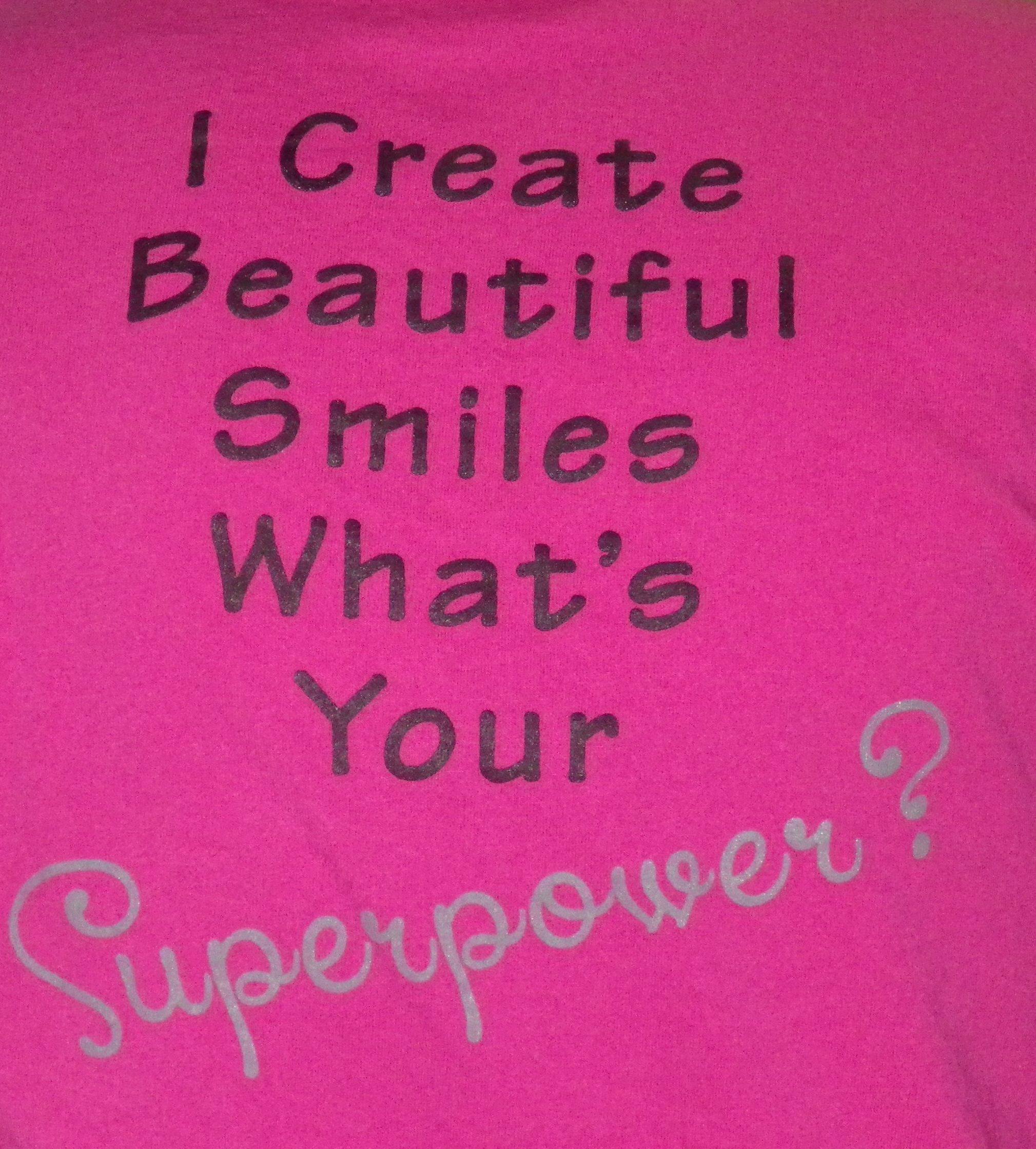 "Our Angela Becker Orthodontic ""Superpower"" t-shirts!"