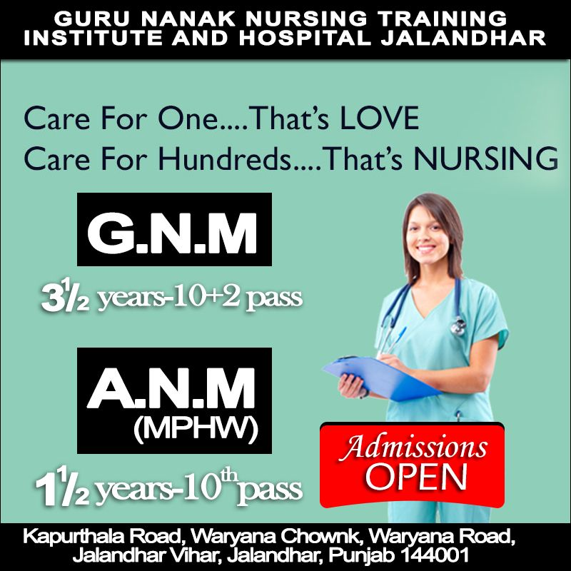 GNNTIH: Best Nursing College in Jalandhar If you want to give a new