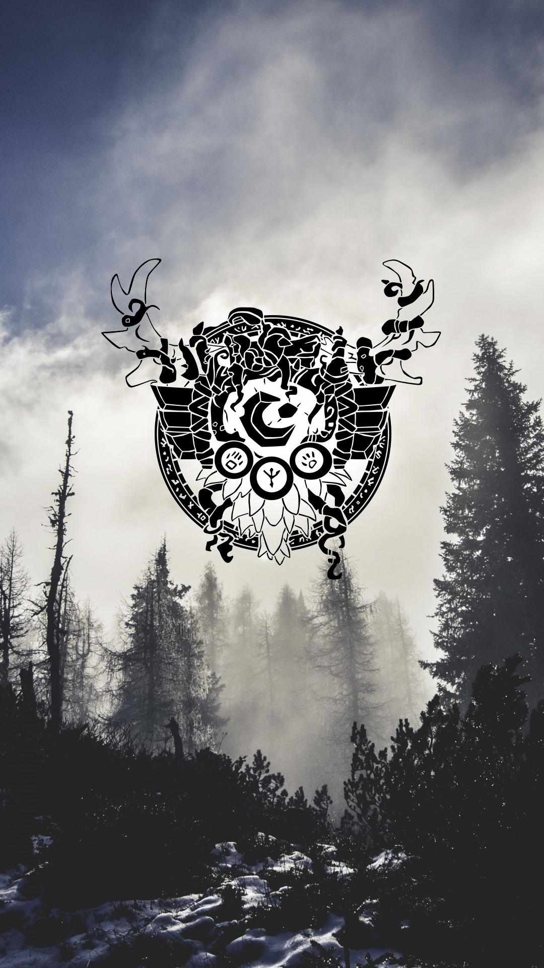 Mobile Druid Wallpaper Logo Cred Uthepabsman Worldofwarcraft