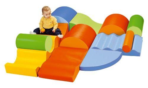 Wesco Tiny Tot Module Big Waves Kit Www Hayneedle Com Kids Indoor Playground Soft Play Soft Play Equipment