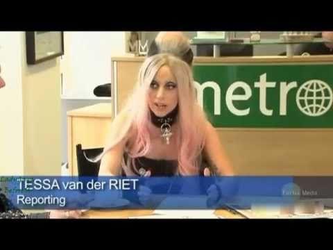 Lady Gaga - Metro Guest Editor