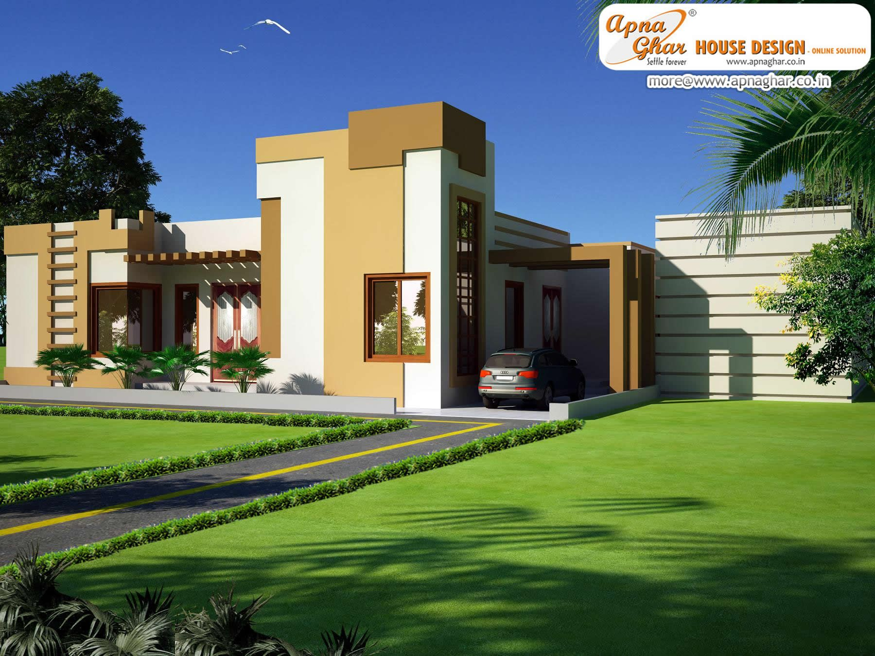 4 bedroom simplex 1 floor house design area 255m2 for Balsam house