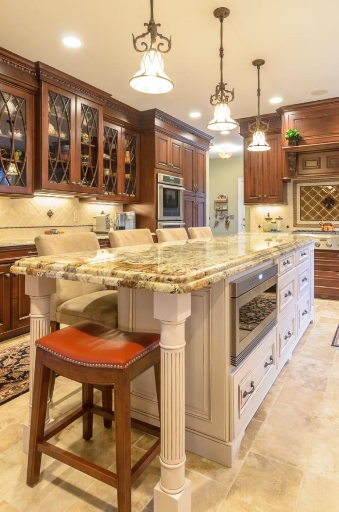 Wood-Mode cabinetry. Westborough, MA. Design & installation ...
