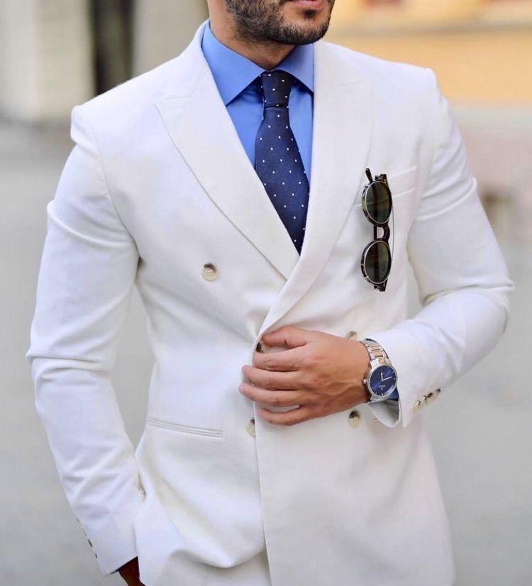 White Suit For Men Mens White Suit Mens Fashion Suits Blue Suit Men