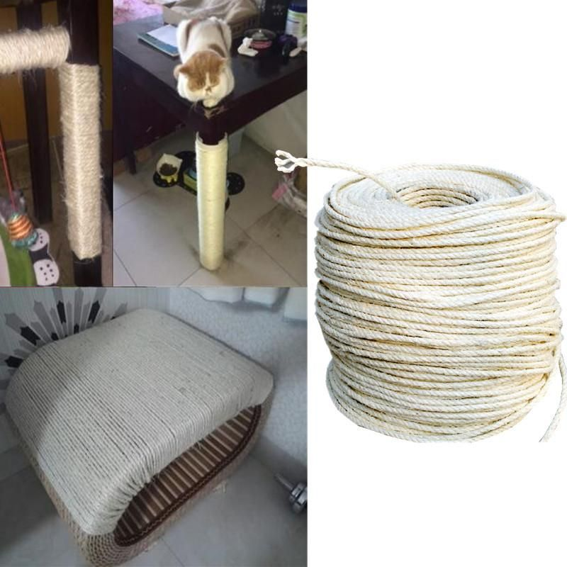 3m Sisal Rope For Making Diy Scratching Posts Sisal Rope Cat Scratching Post Scratching Post