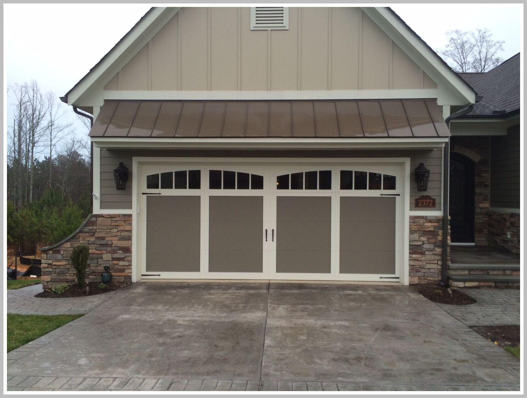110 Reference Of Garage Door Double Hangar Style In 2020 Carriage Style Garage Doors Garage Doors Double Garage Door